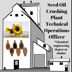 Seed Oil Crushing Plant Technical Operations Officer