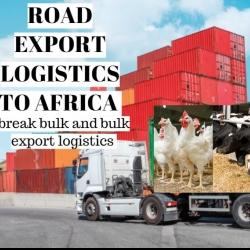Animal Health and Nutrition break bulk Road Export Logistics specialist