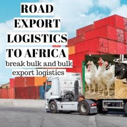 Road Logistics Export (Bulk) into Africa